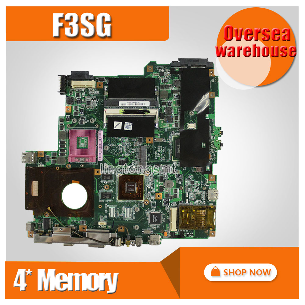 for ASUS Z53S F3SG F3SR F3SV F3SC F3SA F3SE Motherboard tested good mainboard REV2 0 4