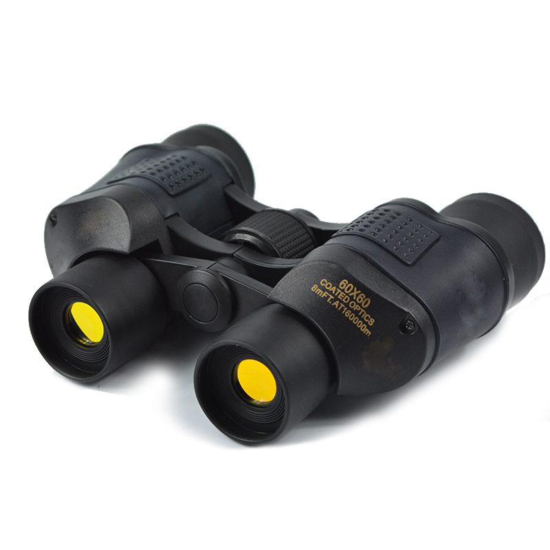 Top Binocular Telescope 60X60 High Clarity 3000M Observation Night Vision Optical Green Film Binoculars with font