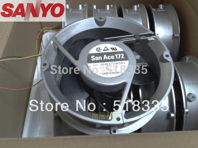 все цены на Sanyo 17251 109E1724K501 DC 24V 1.3A server inverter converter cooling fan онлайн