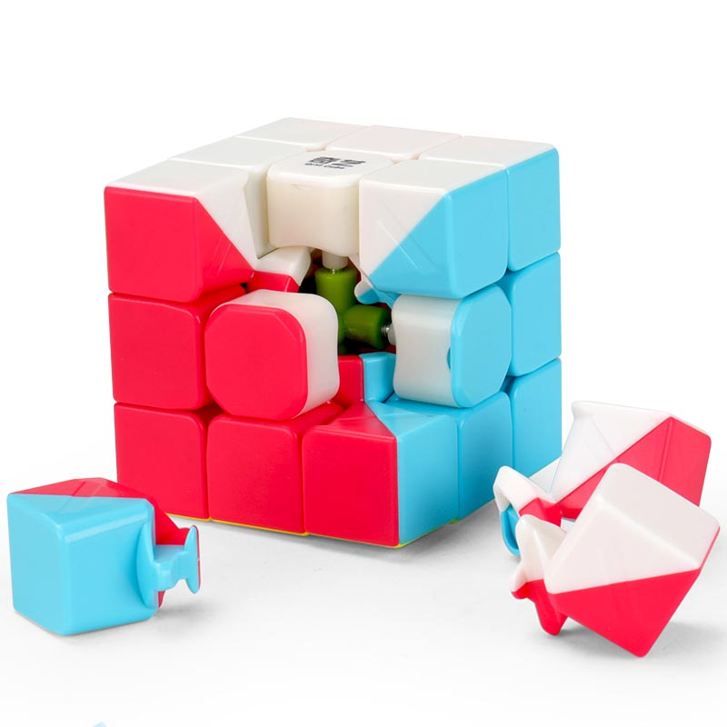 Brand New Qiyi Warrior W 5.7cm 3x3x3 Mofangge Cube Puzzle Sticker Learning Education Cubo Magico Toys For Children купить в Москве 2019