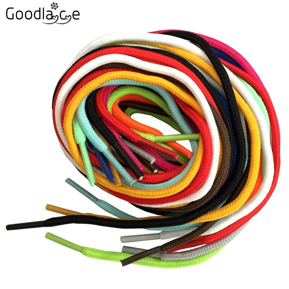 50 Pairs Lot of 180cm Long Round Boot Laces Shoelaces Shoe Laces Shoestrings Cord Ropes