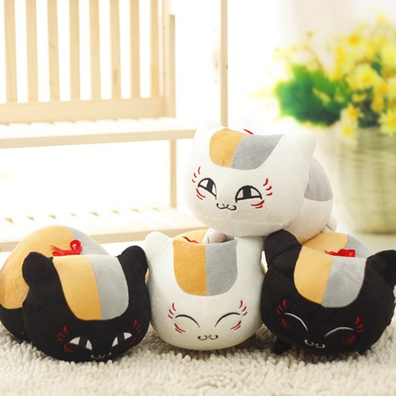"""1 copë 12 """"30cm Natsume Yuujinchou Nyanko Sensei Shtëpi Cat Plush lodra të mbushura Lovely Cat Anime Dolls Toys për Kids Dhuratat e ditëlindjes"""