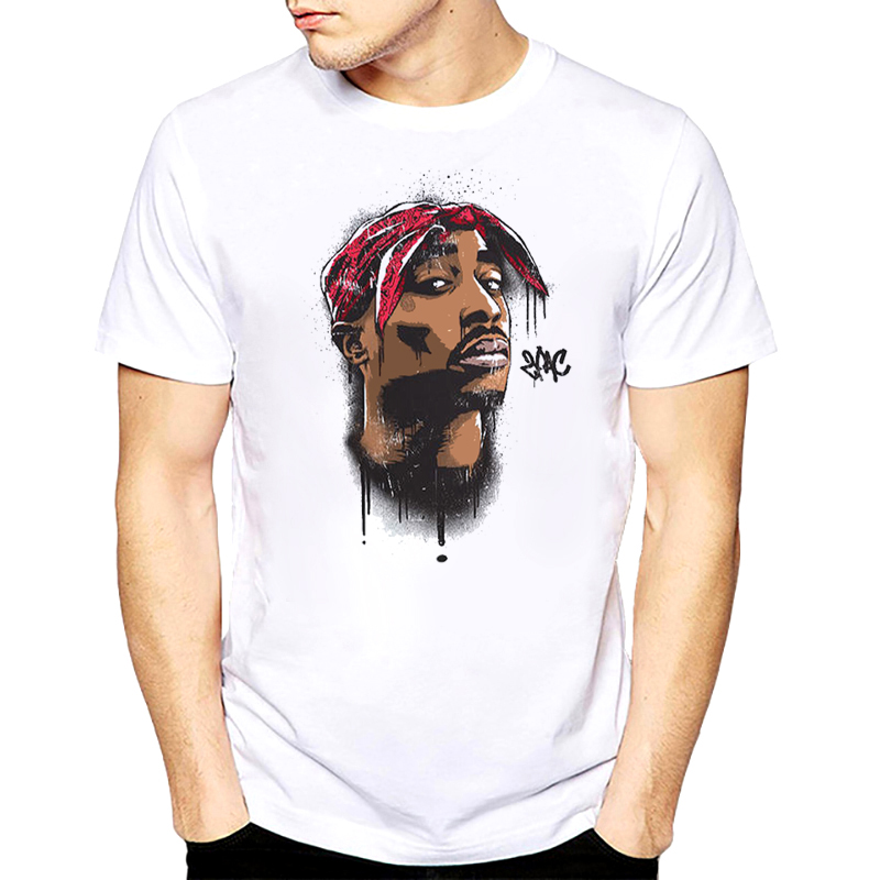 Hip hop rap hiphop xxxtentacion Snoop Dogg drake J Cole 21 Savage Oxxxymiron uomini della maglietta di musica rapper tupac 2pac T-Shirt Tee maschio