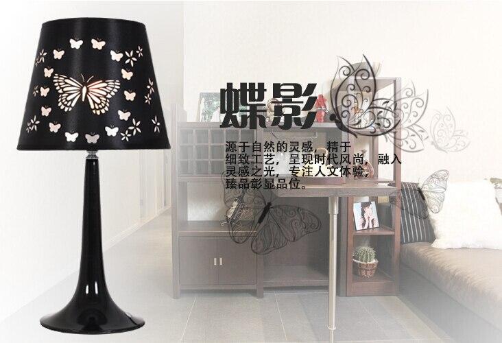 Verlichting Slaapkamer Landelijk : Nordic mode vlinder pvc doek art tafellampen amerikaanse landelijke