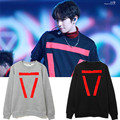 Exo Baekhyun 2016 new rules hooded shirt tees winter clothes EXO k-pop cute long sleeve men fashion women clothes hoodies