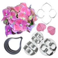 10pcs Lot Lovely Flowers Series Of Metal Stainless Steel And Plastic Biscuits Cutters For The Kitchen