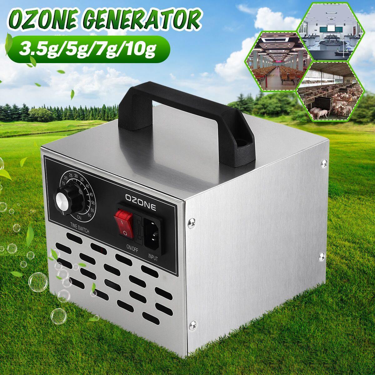 AUGIENB 220V 3.5g/5g/7g/10g/35g EU/US Plug Ozone Generator Air Purifiers Disinfection Machine Air Cleaner Sterilization Machine