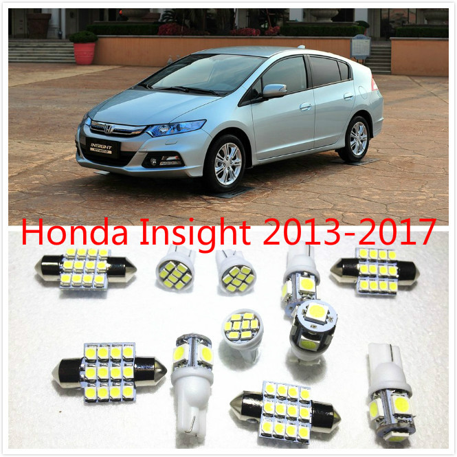 11 set White LED Lights Interior Package T10 & 31mm Map Dome For Honda  Insight 2013-2016 insight flexi map brussels