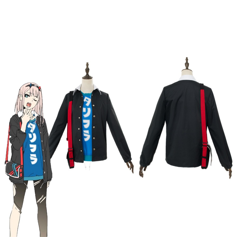Cosplay DARLING in the FRANXX Zero Two Cosplay Costume Code 002 Gym Suit Halloween Carnival Costumes Custom Made