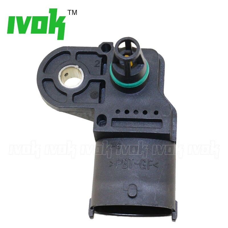 2.5BAR Manifold Absolute Air Boost Pressure Sender MAP Sensor For FIAT DUCATO Box Platform Chassis 2.3 2.8 JTD Diesel 500351377