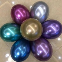New metal balloon 10pcs/lot12 inch thick 3.5g helium ballons birthday party decorations adult baloons wedding supplies kids toys