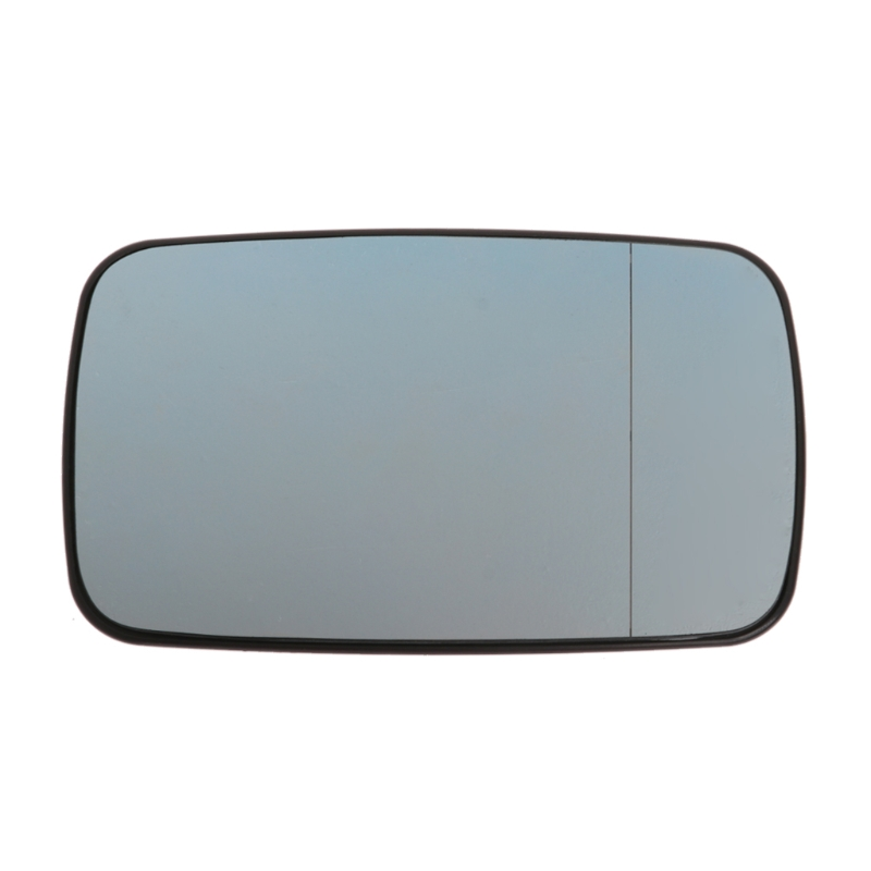 Heated View Split Mirror Glass Right for BMW E46 99-05 Sedan White 330i