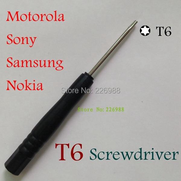 5000 шт./лот мини отвертка T6 Torx 6 угловая отвертка, Открытие Прая инструмент Отвертка Ремкомплект Набор для 3GS iPod Touch