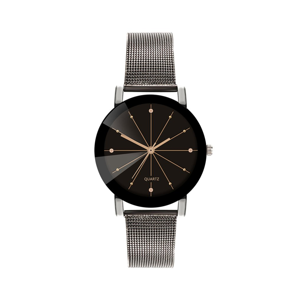 Mesh Belt Quartz Watch Casual Retro Nostalgic Style Fashion Creative Design Simple Watch Luxury Style Simple