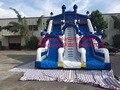 2016 новый Завод прямые Надувные слайд, Коммерческих большие горки KY-116