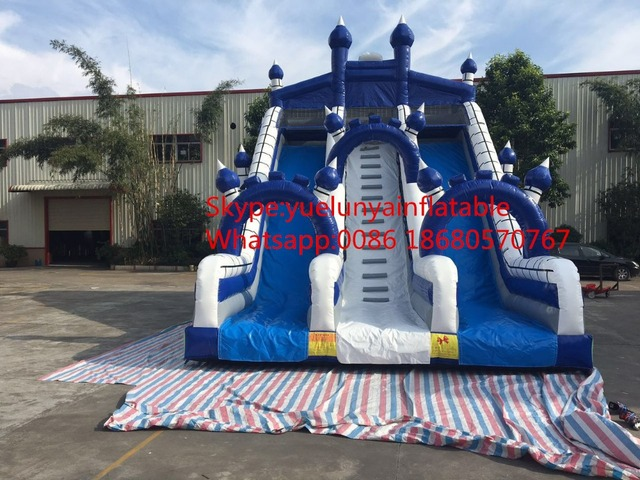2016 new Factory direct Inflatable slide,Commercial big slides KY-116