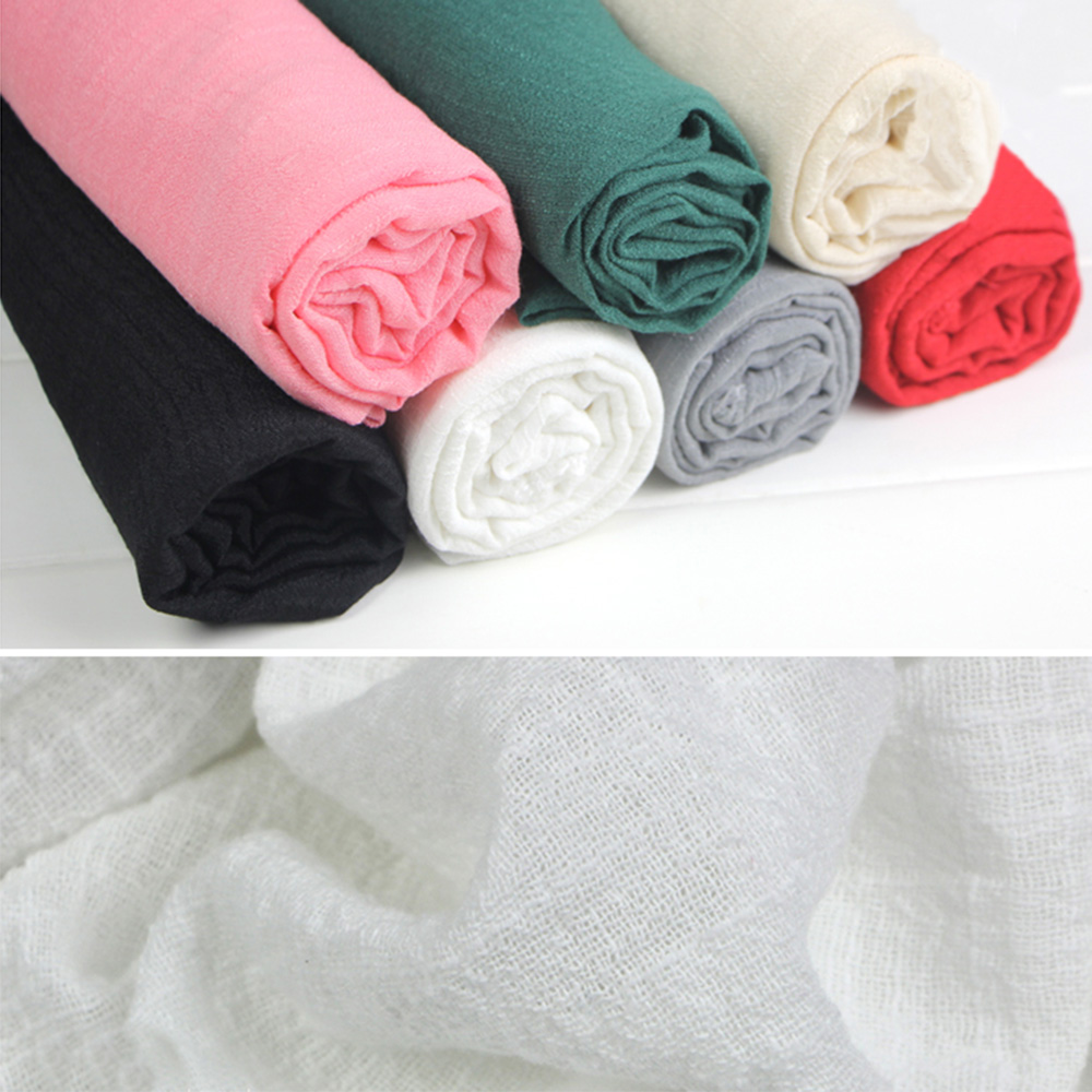 Multi Color Soft Plain Cotton Linen Fabric Ethnic For Clothing Dress Shirts Crafts Sewing Textile Quilting Vintage 901-086
