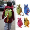 3D Cartoon Dinosaur Baby Toddler Anti lost Leash Harness Strap Walker Baby Lunch Box Bag Kindergarten Schoolbag Backpack