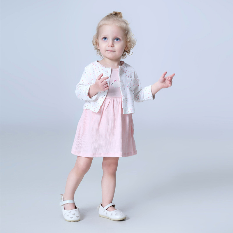 Brand 2017 summer baby girl set ,0-24M 100% cotton baby girls clothes summer flower girl dress , 2 pc/set baby dresses for girls