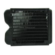 120mm G1/4 De Aluminio Del Radiador Del Ordenador Agua De Refrigeración Refrigerador Para CPU LED Disipador de R179 Envío de La Gota