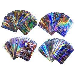 60/100/120/200 шт. 11 видов стилей GX EX Мега Сияющий карты игры Battle Carte карточек игры детей тыкать карточная игрушка для малыша подарок