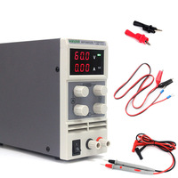 Портативный светодиодный Дисплей переключатель DC Питание 60 В 2A однофазный регулируемый 110 В/220 В 50/60 гц лабораторное оборудование Питание
