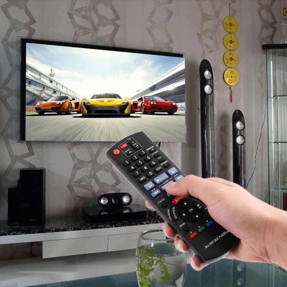 Mando a distancia de repuesto de TV inteligente para Panasonic N2QAYB000867 DMP-BD89 DMP-BD79 Blu-ray Disc DVD partes de Control