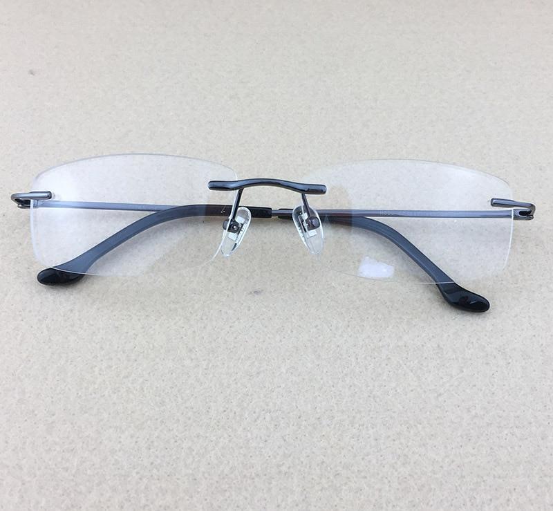 Pure Titanium Myopia Spectacle Frame Տղամարդկանց - Հագուստի պարագաներ - Լուսանկար 3