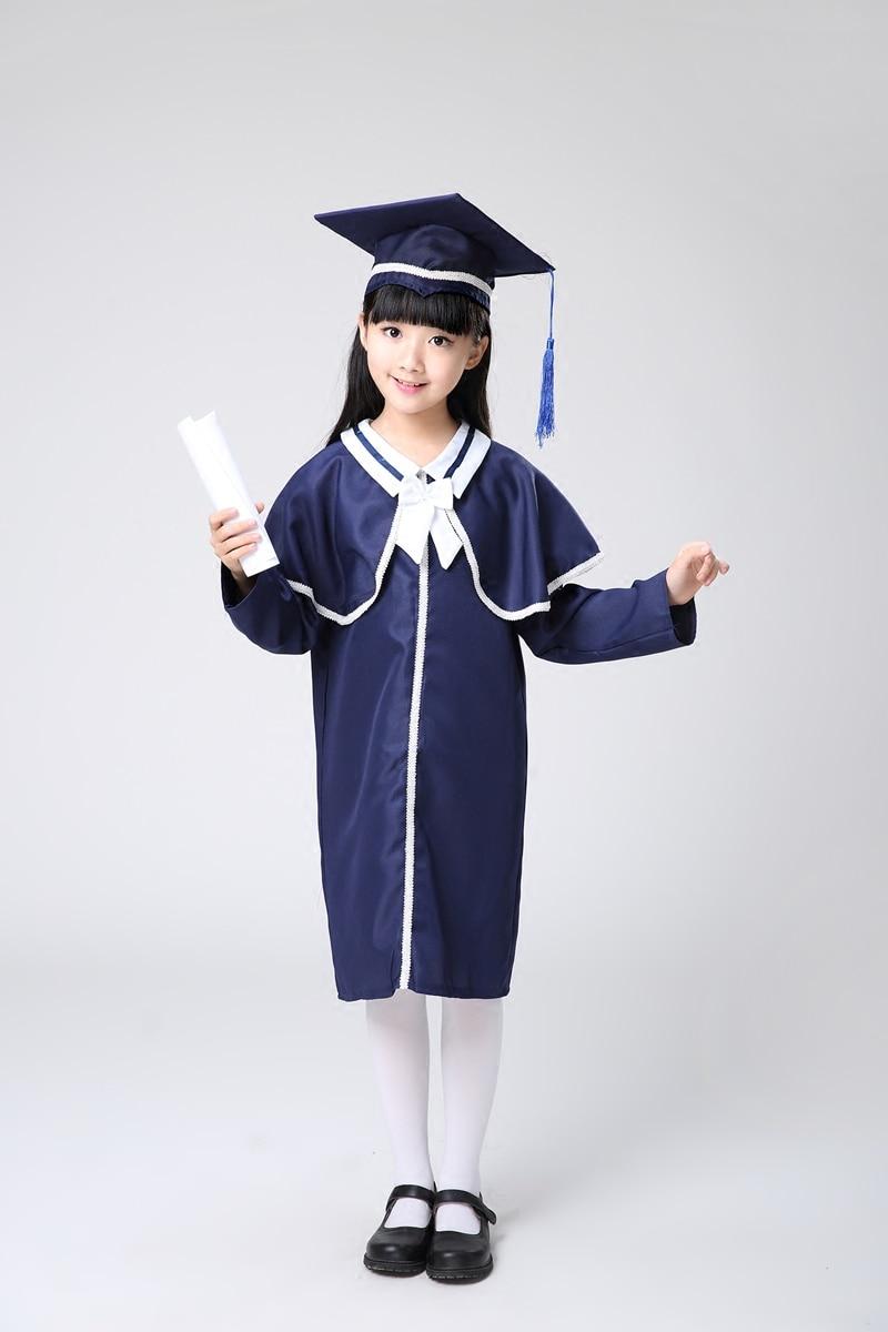 Child Academic Dress for Boys Dr. Cloth Graduated Bachelor Dr. Cap ...