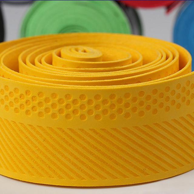 2018new Badminton Sweat Belt Tennis Racket Band Towel Hand Glue Take-up Strap Handshake Handle Multi-color Optional Random Color 4