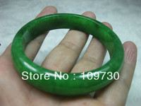 NATURE BEAUTIFUL GREEN stone BRACELET BANGLE 56MM
