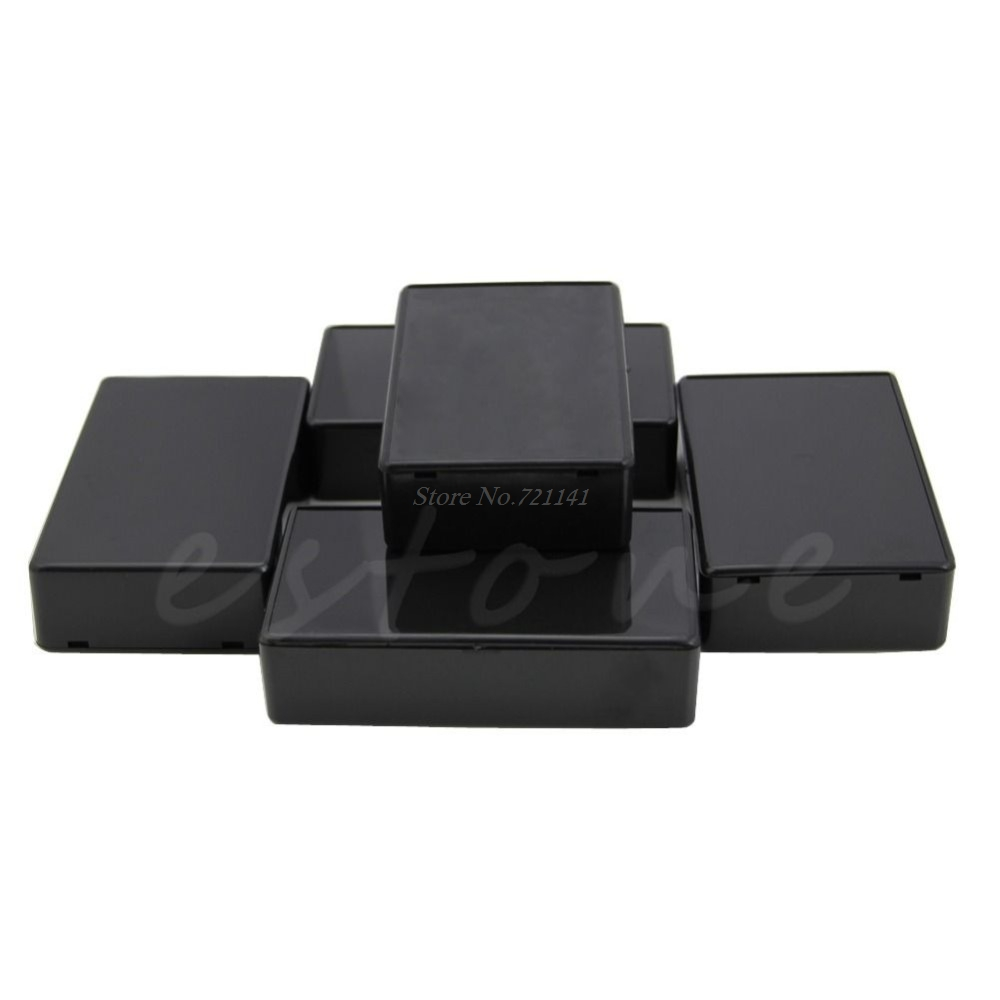 5 Pcs DIY 100x60x25mm Plastic Electronic Project Box Enclosure Instrument Case