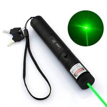 10000m 532 nm Green Laser Sight laser 303 pointer Powerful device Adjustable Focus Lazer Burning Match Laser Pointer Pen цены онлайн