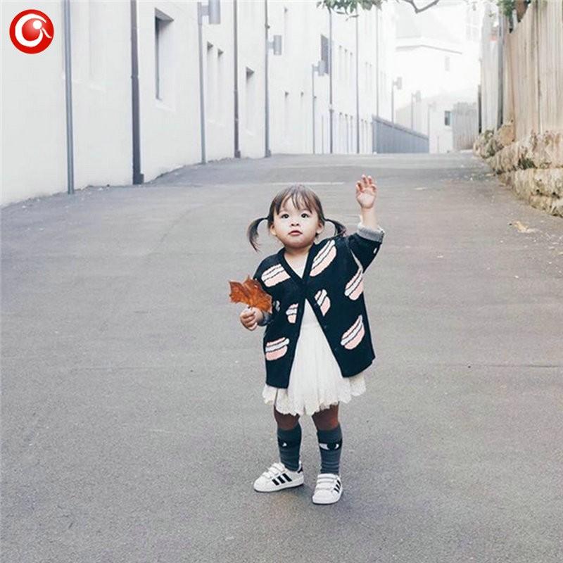 12M-4T AutumnWinter Children Girls Cardigan Fashion Cotton Kids Boys Sweater Baby Knit Open Stitch Jumper Clothes For Christmas (1)