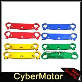 Horquilla frontal, Triple Abrazadera para árbol, placa para chino, 2 tiempos, 47cc, 49cc, Mini bolsillo para minimarchas de bicicleta, Mx-3 GP-RSR MTA1 MTA2 A1 A2 A3