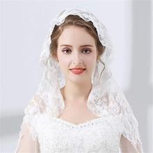 White Lace Veil Mantilla for Church Catholic Latin Mass HeadCovering Vela mantilla negra Voile Dentelle Vela negra Mantilla 2019