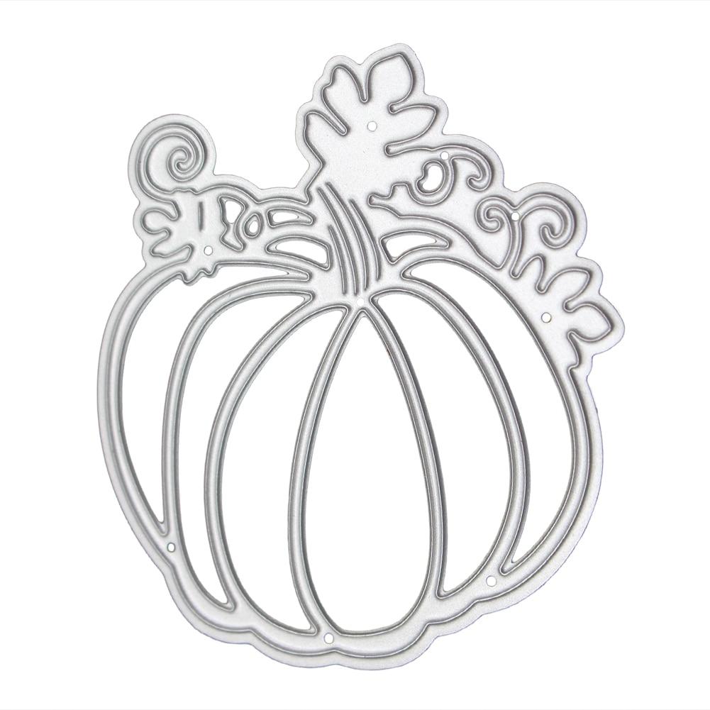 Pumpkin Shape Halloween Cutting Dies Stencil for DIY Scrapbooking ...