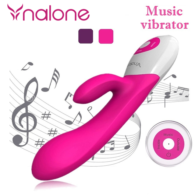 Nalone Music 10 Speeds Barbed G Spot Vibrator, Waterproof vaginal oral clit Vibrator, Intimate Adult Sex Toys For Women