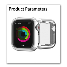 Screen Protective Case for Apple Watch 4 3 iWatch 42mm 44mm 38mm 40mm Shatter-Resistant Shell Frame Protector Cover Series 4 3