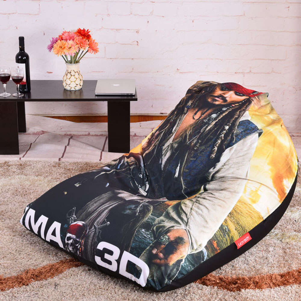 Captain Jack Lounge Stoel.Levmoon Beanbag Sofa Chair Captain Jack Seat Zac Comfort Bean Bag