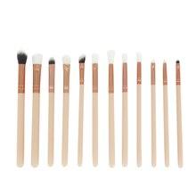 Best Deal New Good Quality 12Pcs Cosmetic Brush Makeup Brush Sets Kits Tools 1set Gift