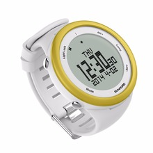 SUNROAD FR852A Digital Smart Sports Men Watch 5TM Waterproof Outdoor Altimeter Compass EL Backlight Watch Golden