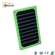 Boguang 5V 5W ETFE portable solar panel charger for cellphone camera