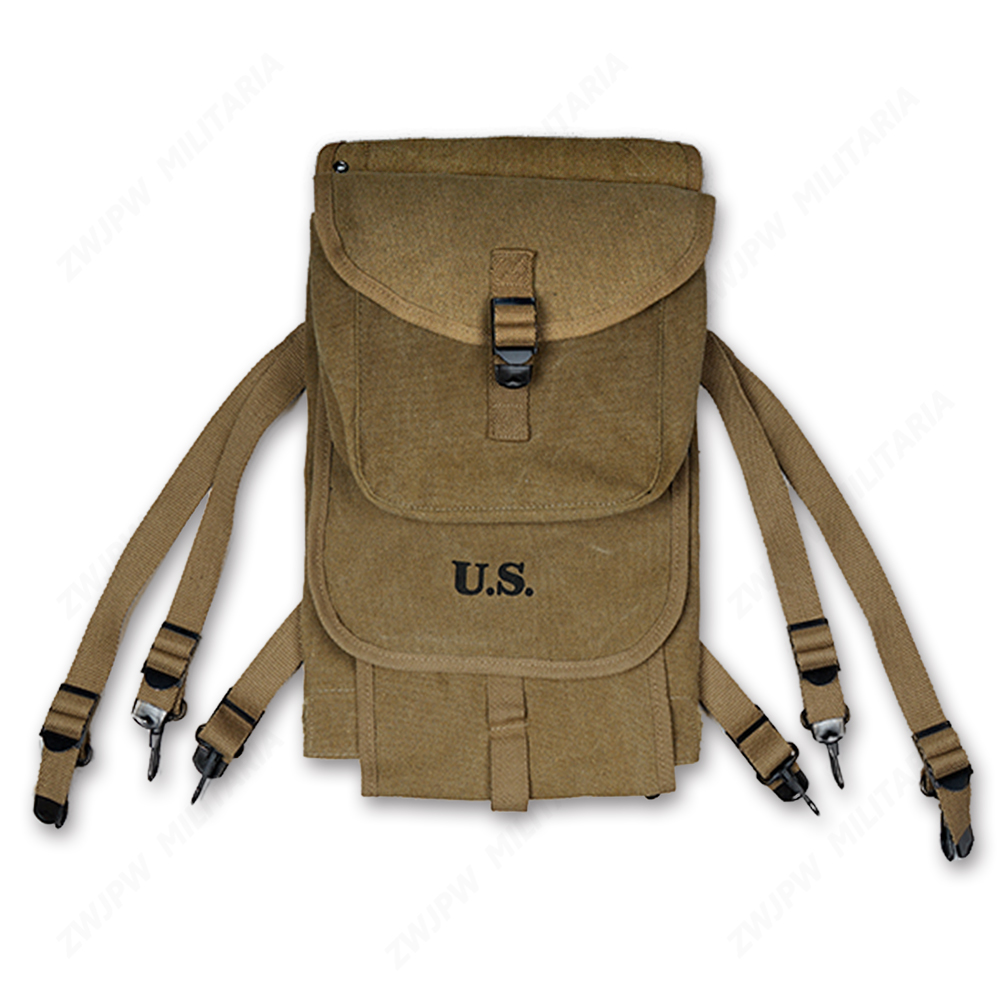 US Type 1928 Backpack-WWII WW2 America Army Canvas Bag Bag HIGH QUALITY US / 107104