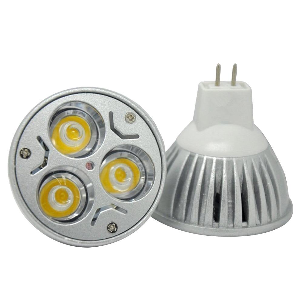 10pcs LED Bulbs 12V 3W Ultra Bright MR16 LED Spotlight Bulb- 30Watt Halogen Equivalent Warm White mr16 led spotlight bulb