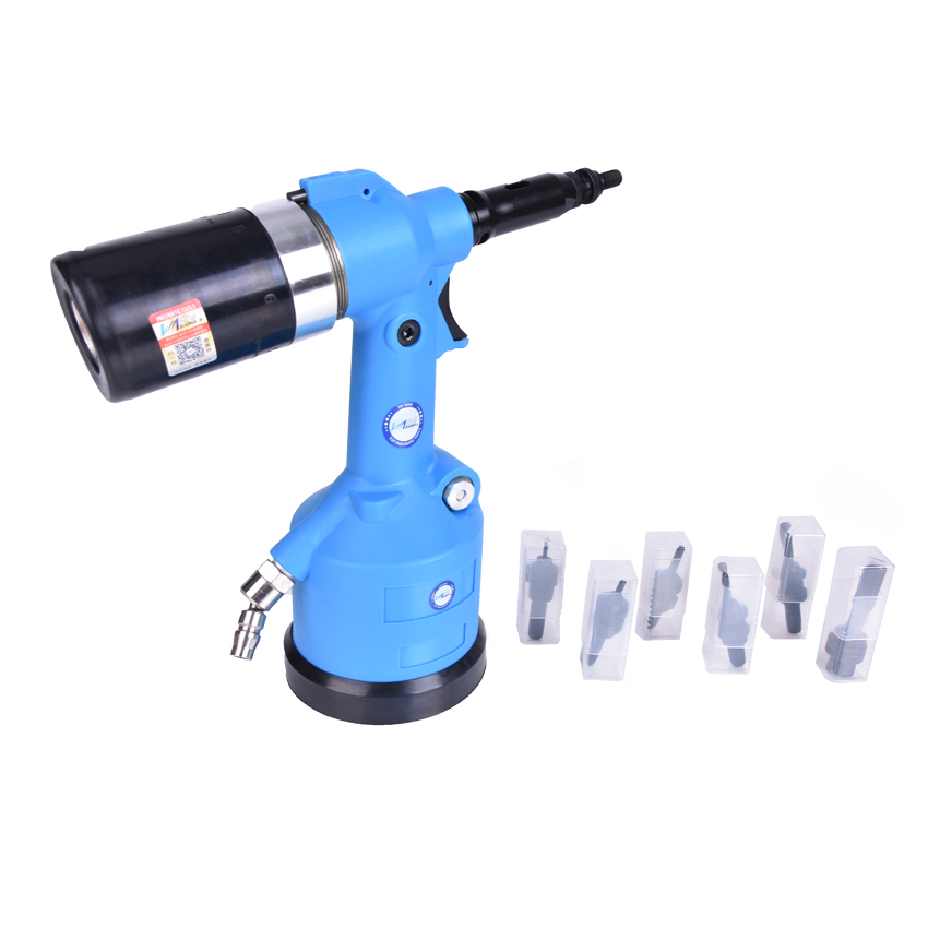 BM-8800S Automatic Rivet Nut Pneumatic Riveter Pneumatic Hydraulic Pull Cap Gun Automatic Rivet Nut Pneumatic Tool M3-M12 ausini building block set compatible with lego transportation train 003 3d construction brick educational hobbies toys for kids