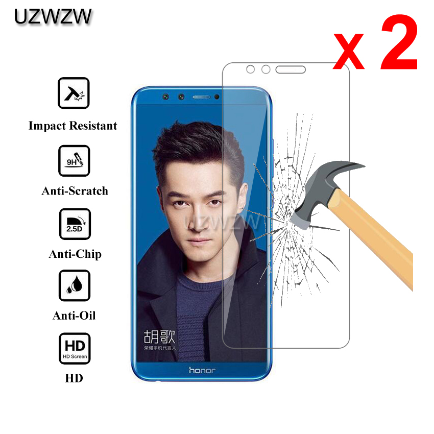 DESHENG Clear Screen Protector 100 PCS 0.26mm 9H 2.5D Tempered Glass Film for Huawei nova Lite Glass Film