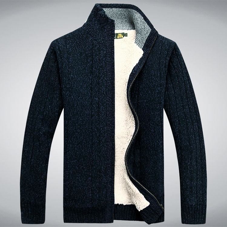 Aolambgs Sweater Men Autumn Winter Wool Thick Male Cardigan 2016 Fashion Brand Clothing Outwear Knitting Sweter Hombre M-3XL (4)