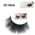 1 Pair Top Quality 3D Mink Lashes Eyelash Extension False Eyelashes Make up Tools