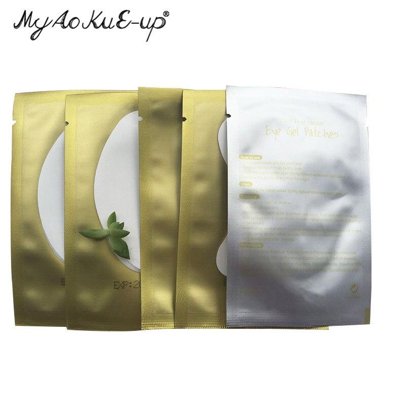 500pairs pack Paper Patches Eyelash Under Eye Pads Lash Eyelash Extension Paper Patches Eye Tips Sticker